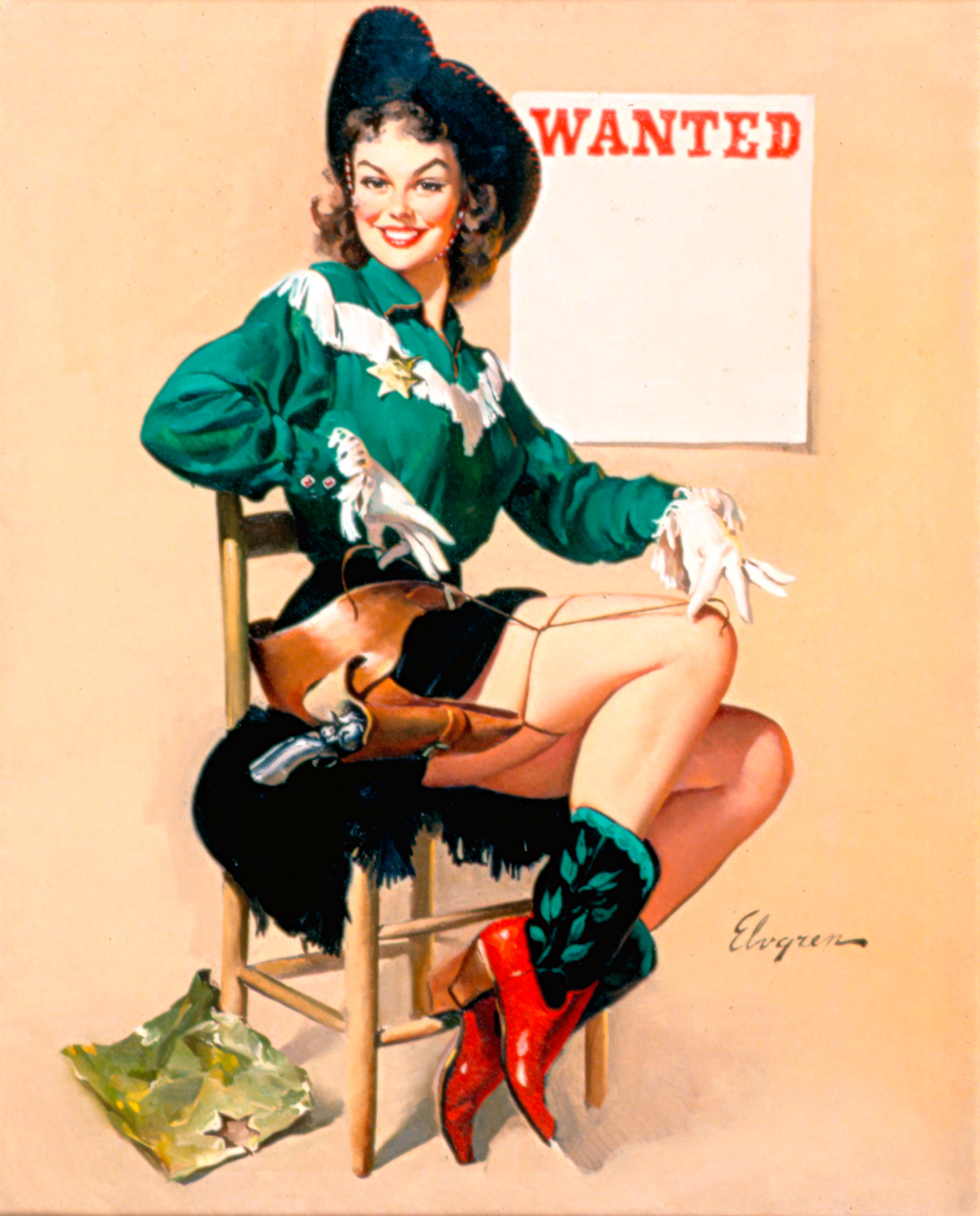 pretty pinup pictures on pinterest gil elvgren pin up and pin up girls. Black Bedroom Furniture Sets. Home Design Ideas